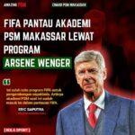 Akademi PSM Makassar dipantau FIFA lewat program Arsene Wenger